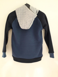 Sweater BIKE blauw (mt 92 tm 122/128)