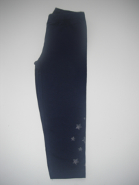 Legging 7/8 donkerblauw (mt 92 tm 122/128)