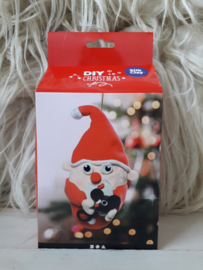 Kerstman - silk clay DIY set