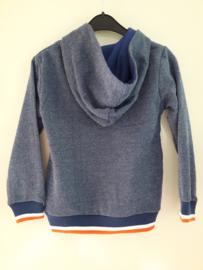 Sweater BLAUW (mt 92 tm 164)