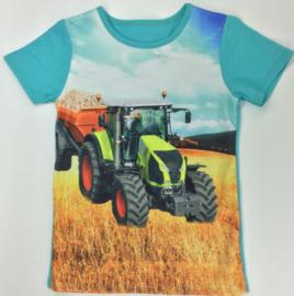 Trekker shirt aqua (groene trekker) mt 2 tm 12