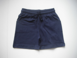 Short blauw mt 128 tm 164
