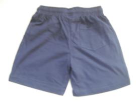 Short blauw mt 92 tm 122/128