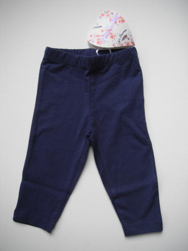 Legging blauw mt 92 tm 122/128