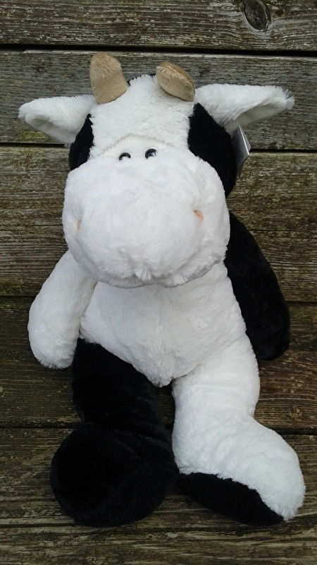 Koe knuffel 45 cm
