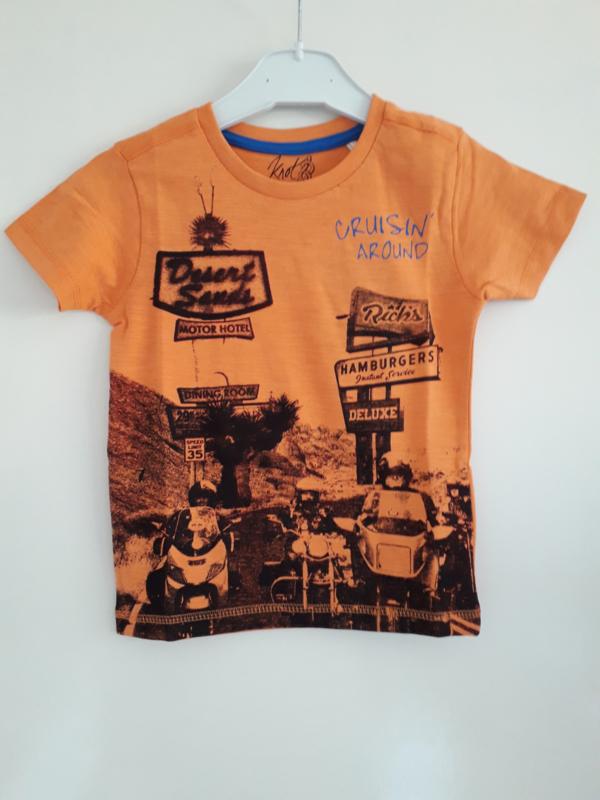 Shirt CRUISIN oranje mt 92 tm 122/128