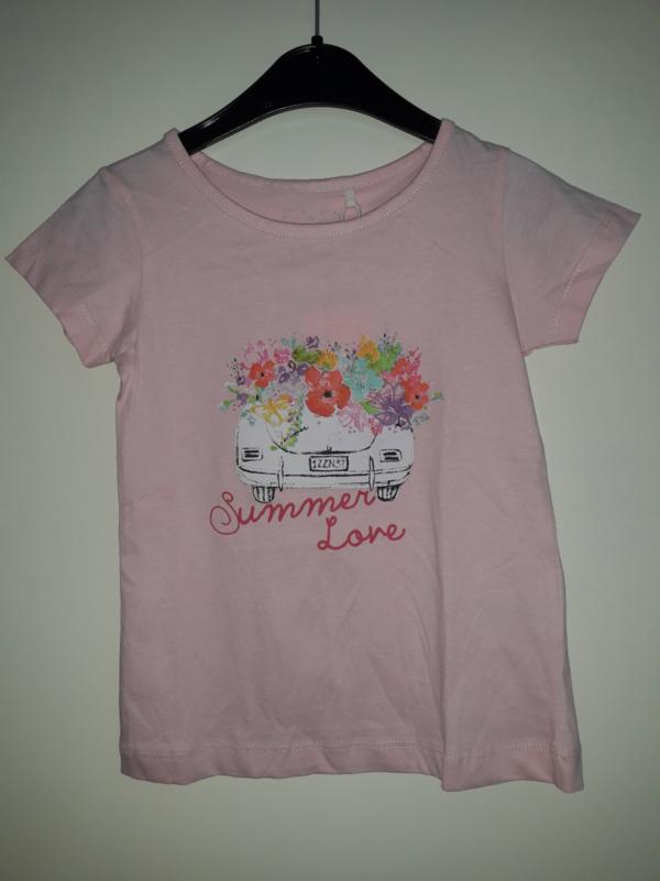 T-shirt SUMMERLOVE roze mt 92 tm 122/128