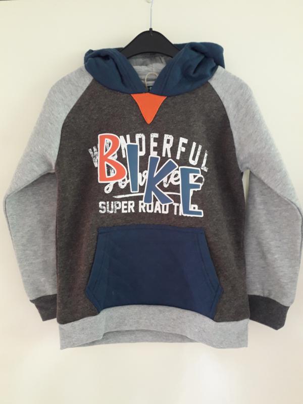 Sweater BIKE grijs (mt 92 tm 122/128)