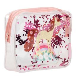 Toilettasje Glitter Paard - A Little Lovely Company