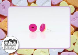 Donut oorbelletjes Snoepig