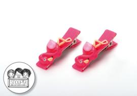 Knipjes Flamingo Snoepig