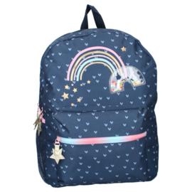 Rugzak Fluffy Rainbow - Milky Kiss