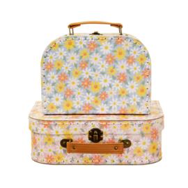 Kofferset Pink Daisy 2 - Sass & Belle