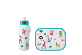 Mepal Campus Lunchset Animal Friends Pop-up