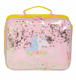 Lunchtasje-Koeltasje Glitter Eenhoorn - A Little Lovely Company