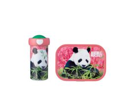 Mepal Campus Lunchset Animal Planet Panda