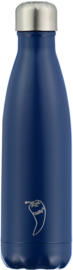 Chilly's Bottle 500 ml Blue Matte