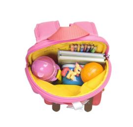 MINI rugzak Bright Pink Colour Block - Zip and Zoe (1-4 jaar)