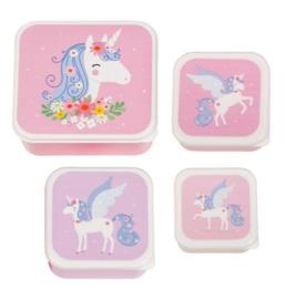 Lunchboxset Unicorn - A Little Lovely Company