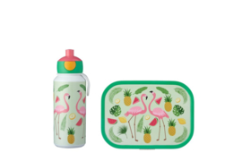 Mepal Campus Lunchset Tropical Flamingo Pop-up