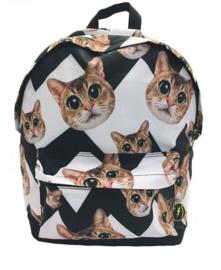 Rugzak All  Over Cats - De Kunstboer