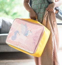 Koffer Eenhoorn Glitter - A Little Lovely Company