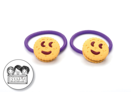 Elastiekjes Choco Smile Koekjes Snoepig