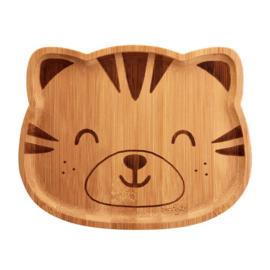 Kinderbord Tijger Bamboe - Sass & Belle