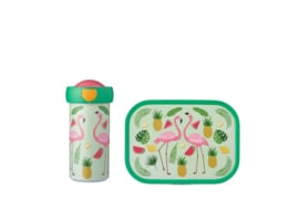 Mepal Campus Lunchset Tropical Flamingo