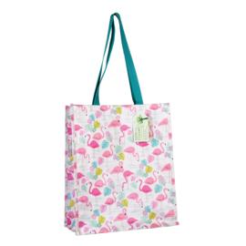 Boodschappen tas / shopper Flamingo - Rex London