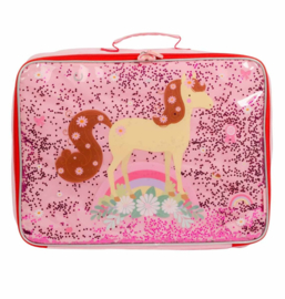 Koffer Paard Glitter - A Little Lovely Company