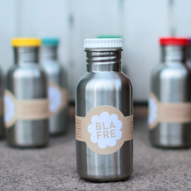Drinkfles RVS wit - Blafre
