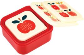 Lunchbox set Vintage Appel - Rex London