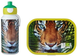 Mepal Campus  Lunchset - Animal Planet Tijger Pop Up