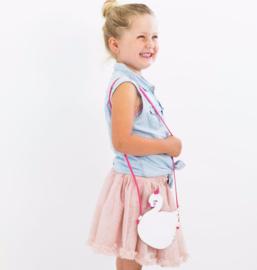 Schoudertasje/portemonneetje Zwaan - A Little Lovely Company
