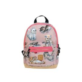 Rugzakje Kittens roze - Pick & Pack