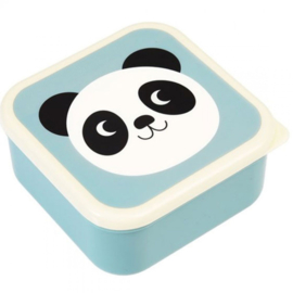 Lunchbox set Panda - Poes -Konijn