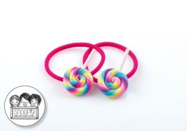 Elastiekjes Swirl Lolly Snoepig