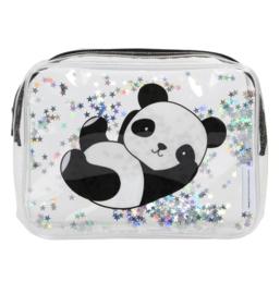 Toilettasje Glitter Panda - A Little Lovely Company