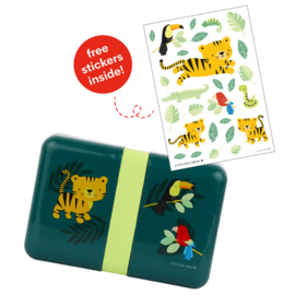 Lunchbox Jungle Tijger A Little Lovely Company