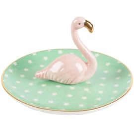 Decoratieschaaltje Flamingo Sass & Belle