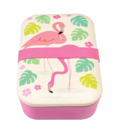 Bamboe Lunchbox Flamingo - Rex London