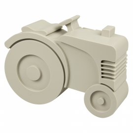 Tractor lunchbox grijs - Blafre