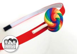 Haarband Swirl Lolly Snoepig