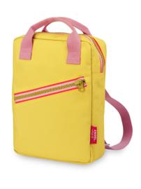Rugzak small Zipper Yellow - Engel