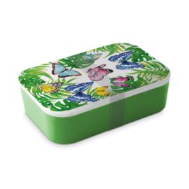 Bamboe Lunchbox Vlinders