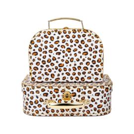 Kofferset Leopard - Sass & Belle