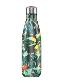 Chilly's Bottle 500 ml - Tropical Toucan
