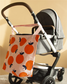 Katoenen Kinderwagentas / Shopper - Naranja