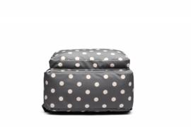 Rugzak Happy Dots  Grey - Blossify